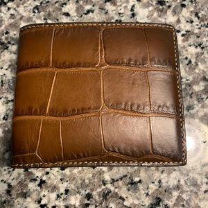 Coach Croc Wallet